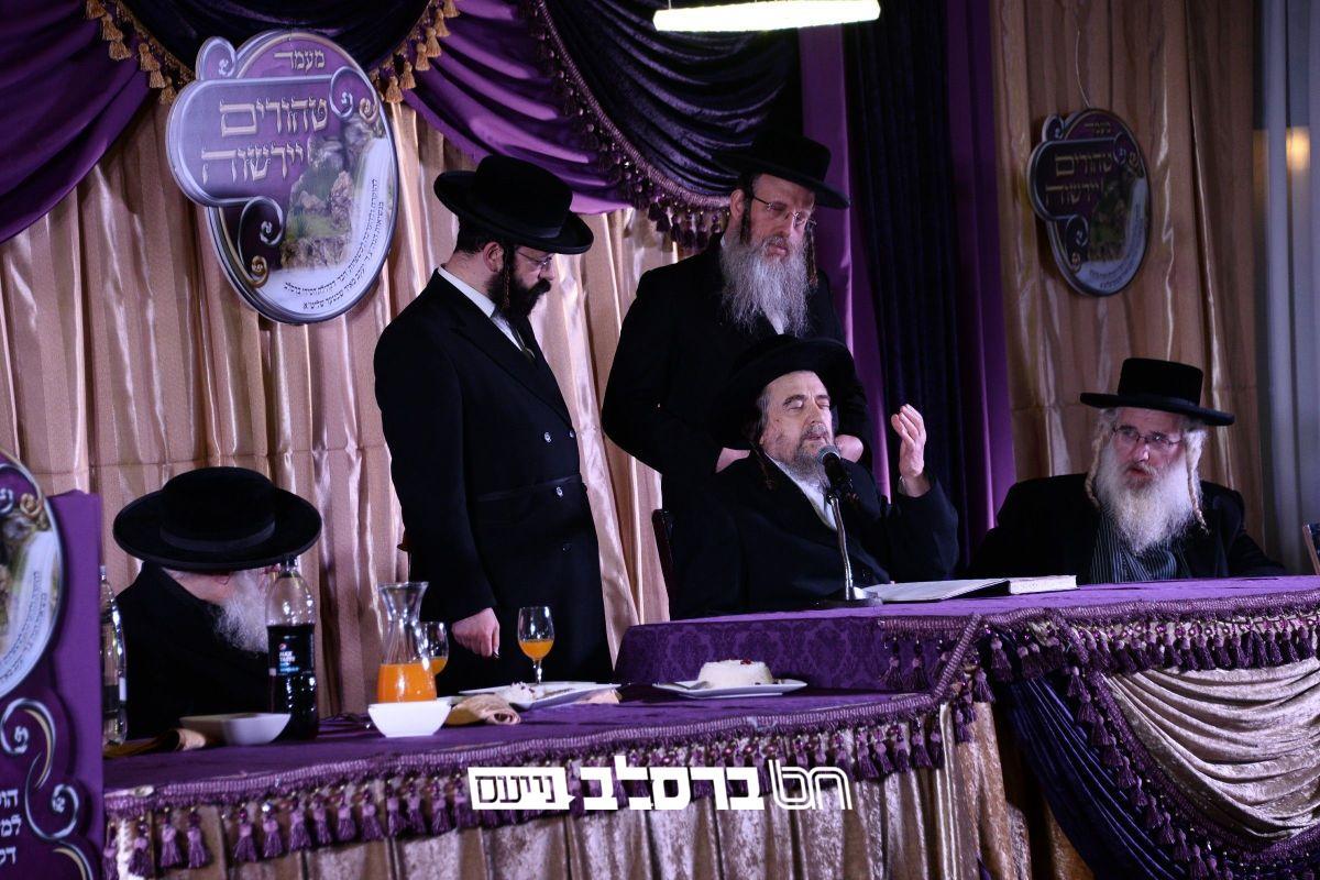 """מעמד """"טהורים ירשוה"""" בקהילת חסידי ברסלב שבראשות הגאון הצדיק רבי יעקב מאיר שכטער שליט""""א"""