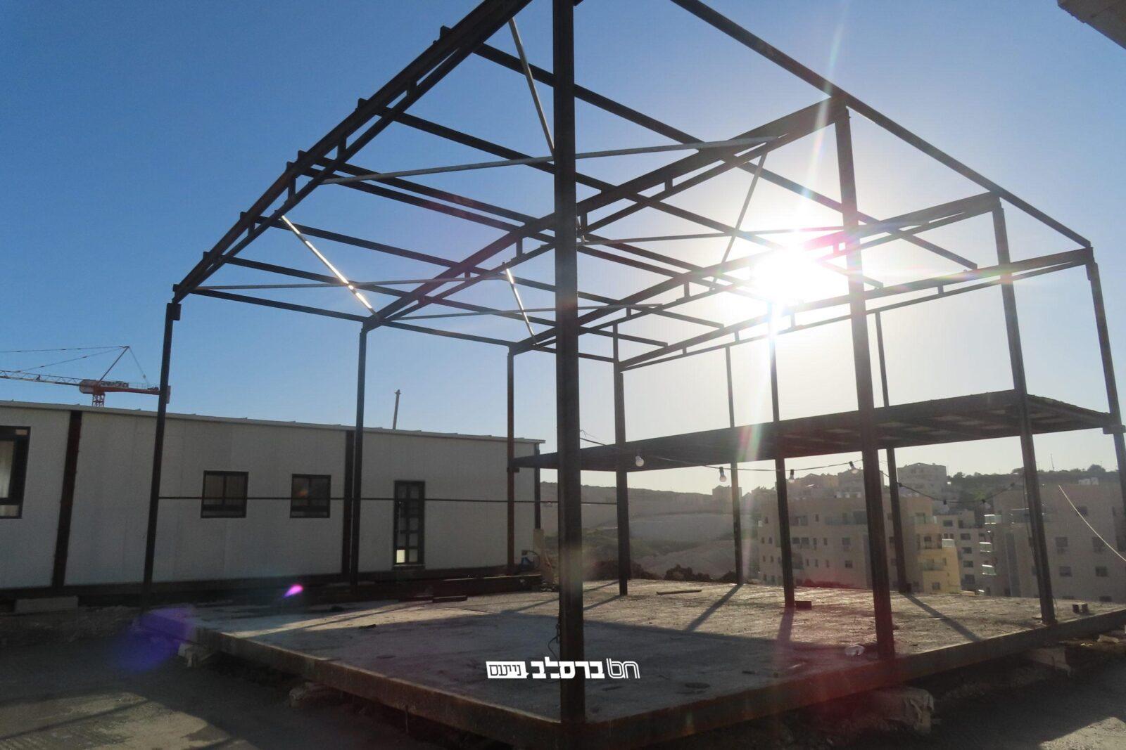 """בית שמש: החלה בניית ביה""""כ דחסידי ברסלב ברמת בית שמש ג' 2 שבראשות הגאון ר""""צ ליברמנש"""