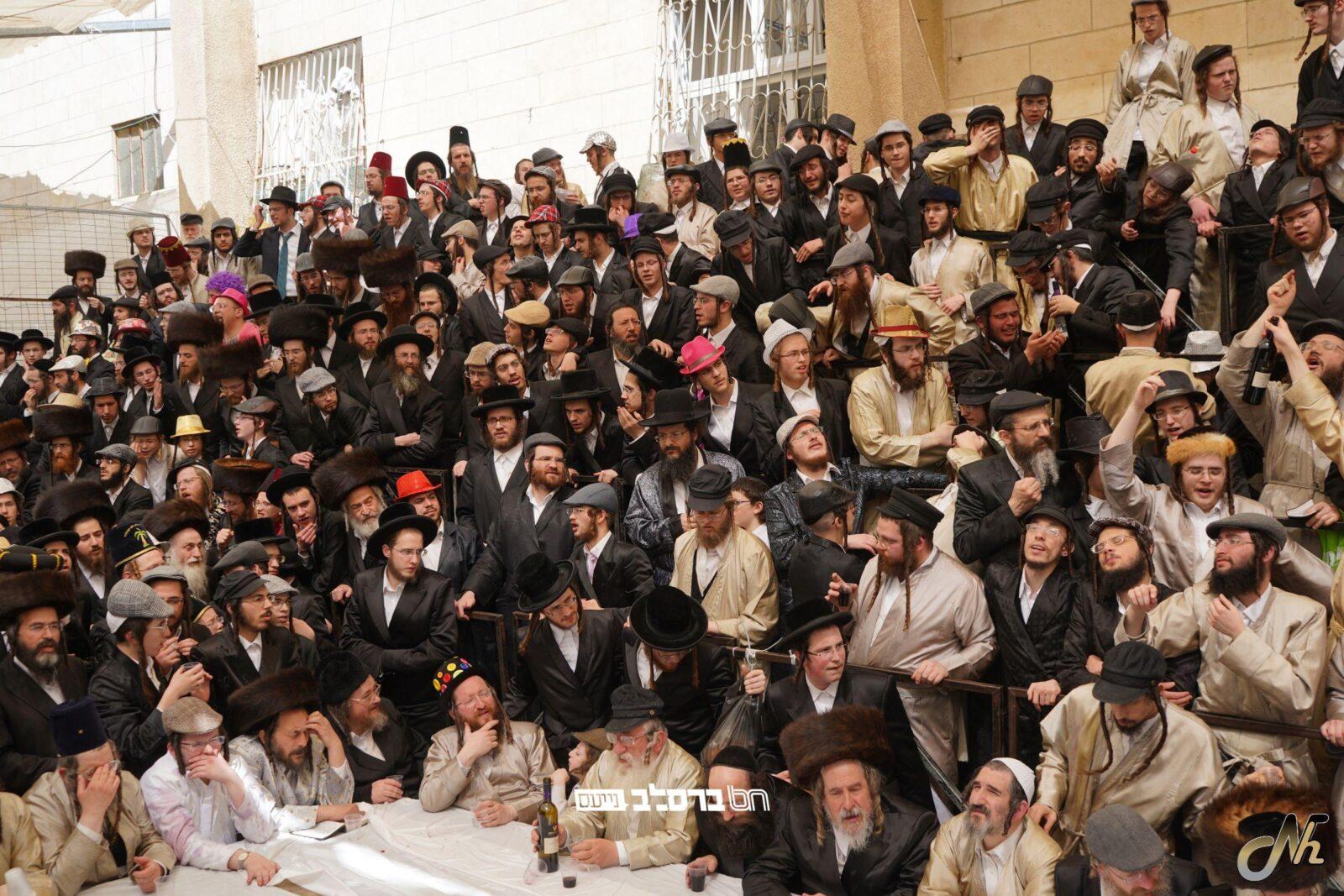 """ירושלים: כלל מצוות הפורים בצל הגה""""צ רבי יעקב מאיר שכטער שליט""""א וקהל עדתו שיחיו"""