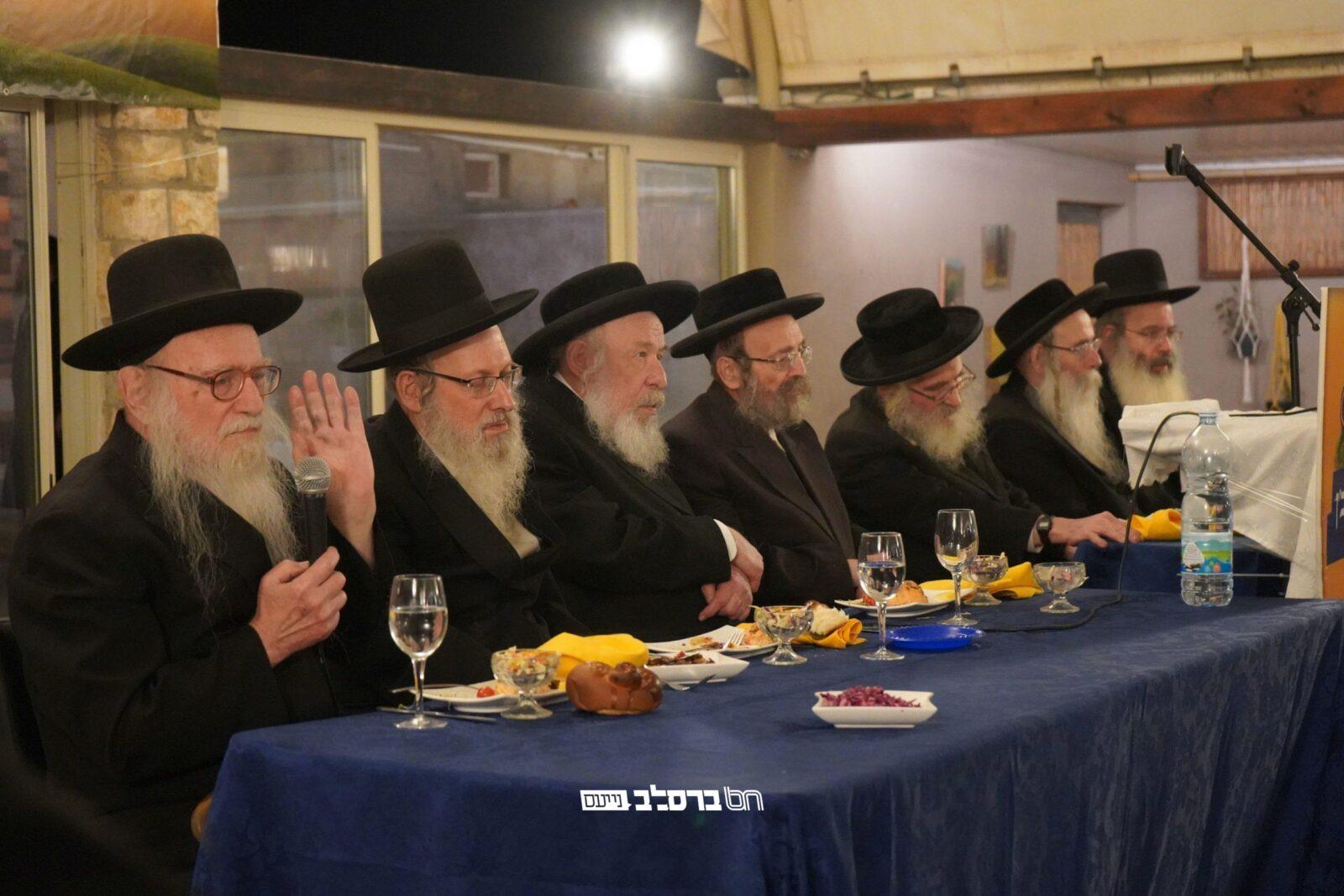 בית שמש: קהילת ברסלב ברמת בית שמש ג' 2 בכינוס מיוחד לבניית הבית הכנסת 'א שול פאר'ן רעב'ן'