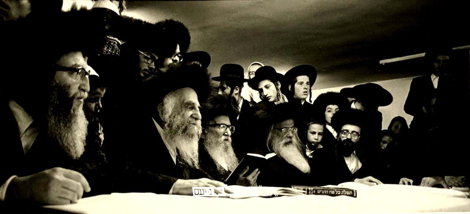 """טוֹב וָחֶסֶד • צפו בתיעוד משיחת הגה""""ח רבי לוי יצחק בנדר בסעודת הילולת רבינו הקדוש מלפני 36 שנים"""