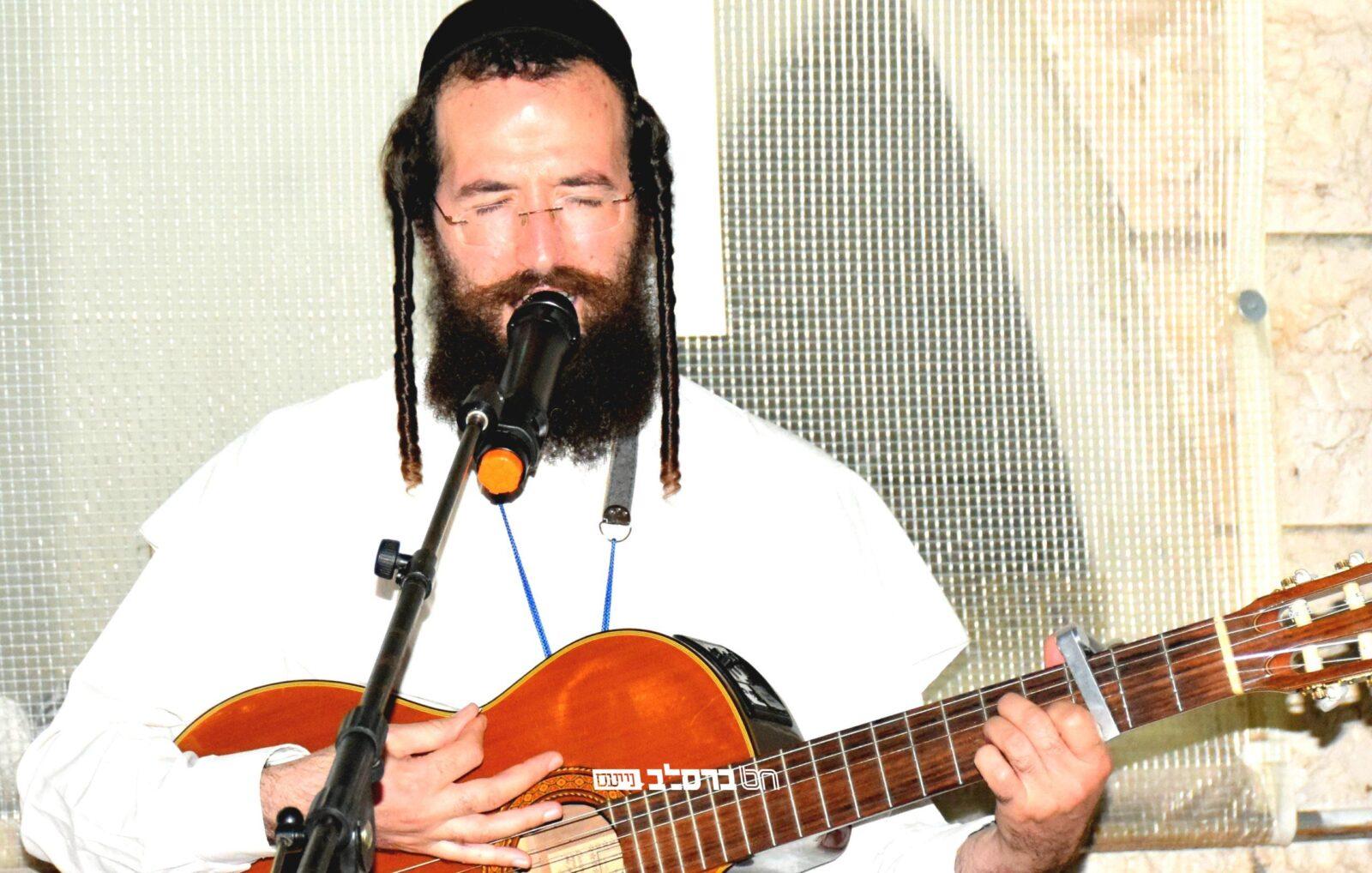 צפת • קומזיץ לבני הישיבות מהעיר צפת עם בעל המנגן הברסלבאי הרב דוד דגן