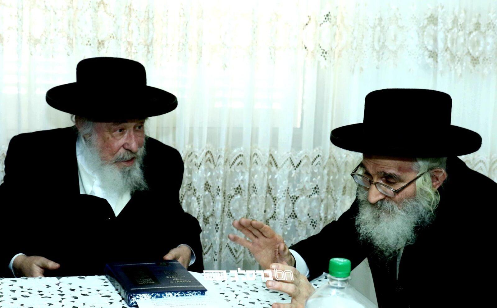 """הרבנים גדולי זקני חסידי ברסלב  שליט""""א בקריאת קודש: """"הוי זהיר בגחלתן"""""""