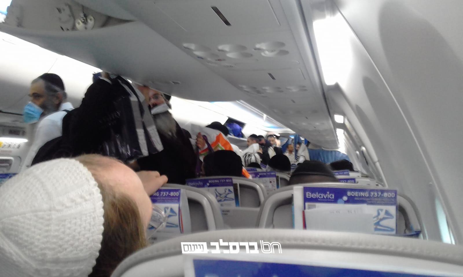 ושוב הסתה • בניגוד לנהוג, במשרד הבריאות מזהירים: חולי קורונה התגלו בטיסות מבלארוס ואוקראינה