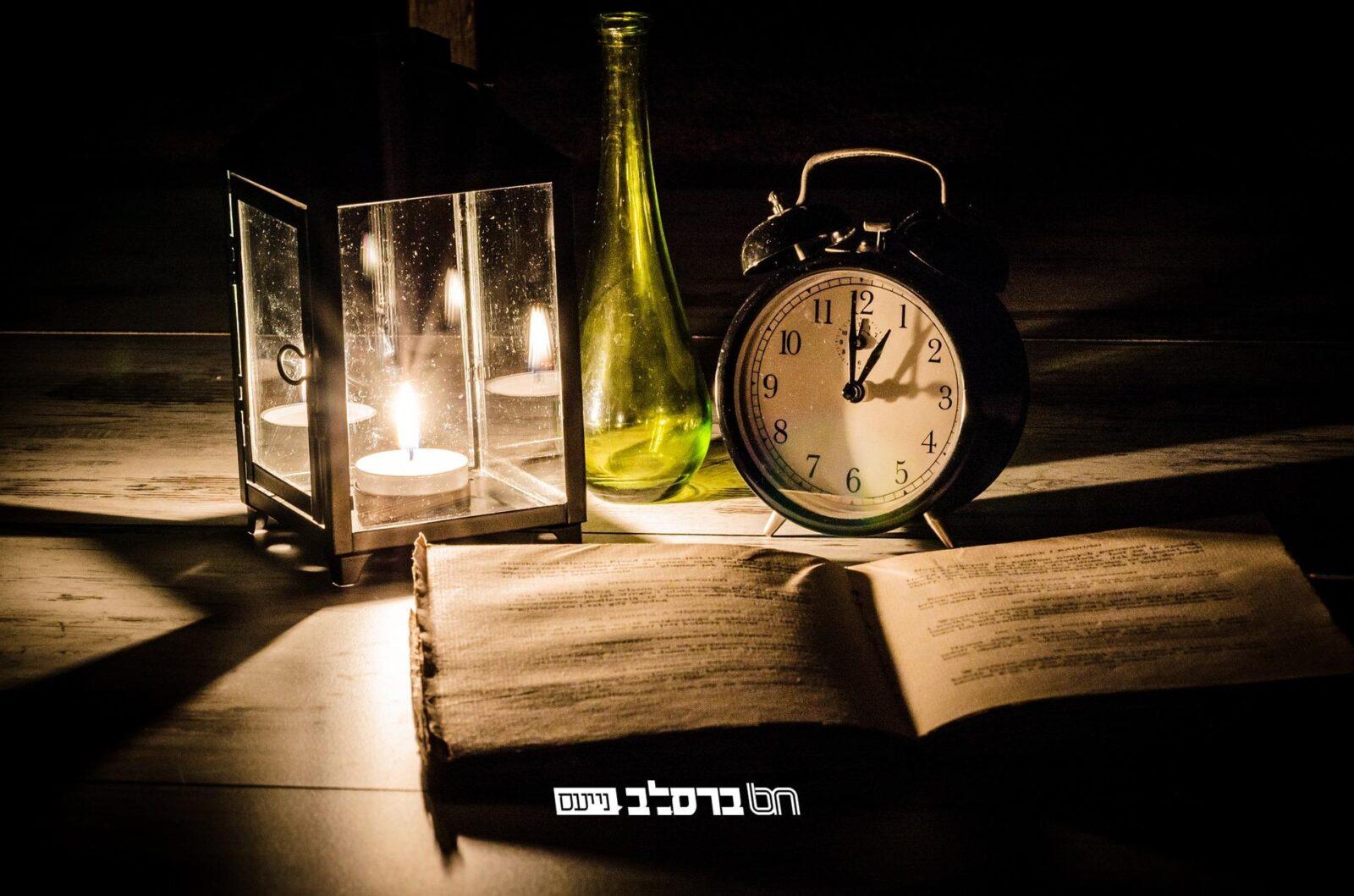 """לוח שנה מפואר בקהילת חסידי ברסלב """"קרן אור"""" עם זמני היום והלימודים • לצפייה ולהורדה"""
