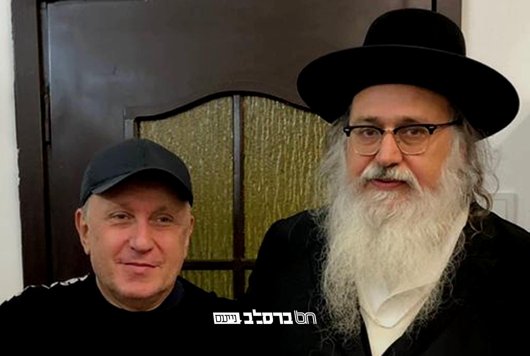 אומן • ארגון 'זכויות האדם' הלוחם נגד אנטישמיות בפגישה במשרדי איחוד ברסלב באומן