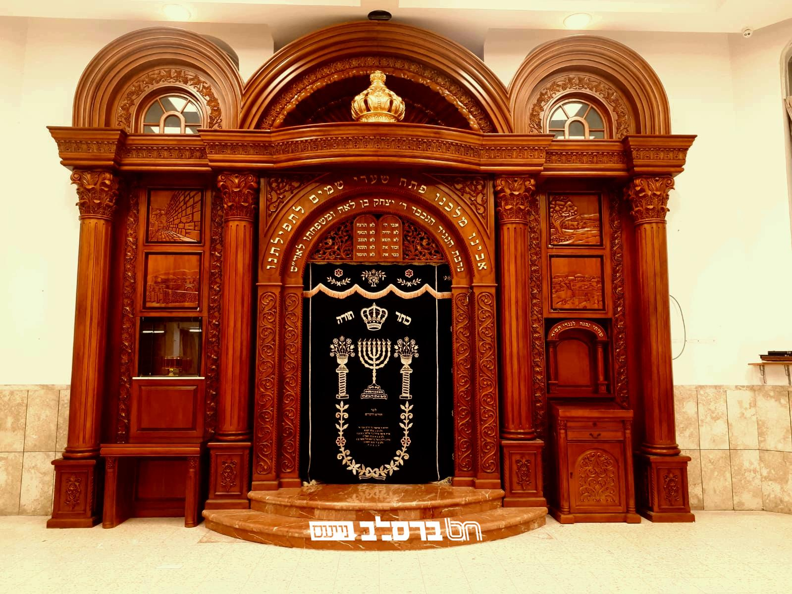 אֲרוֹן עֻזֶּךָ • חונך ארון הקודש מרהיב בבית הכנסת 'אור אברהם' • צפו