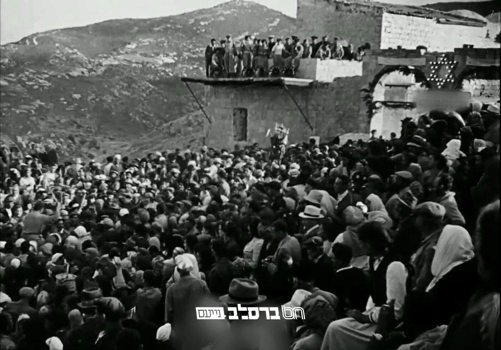 """אסון מירון תרע""""א • תיאור רבי שמואל הורביץ זצ""""ל"""