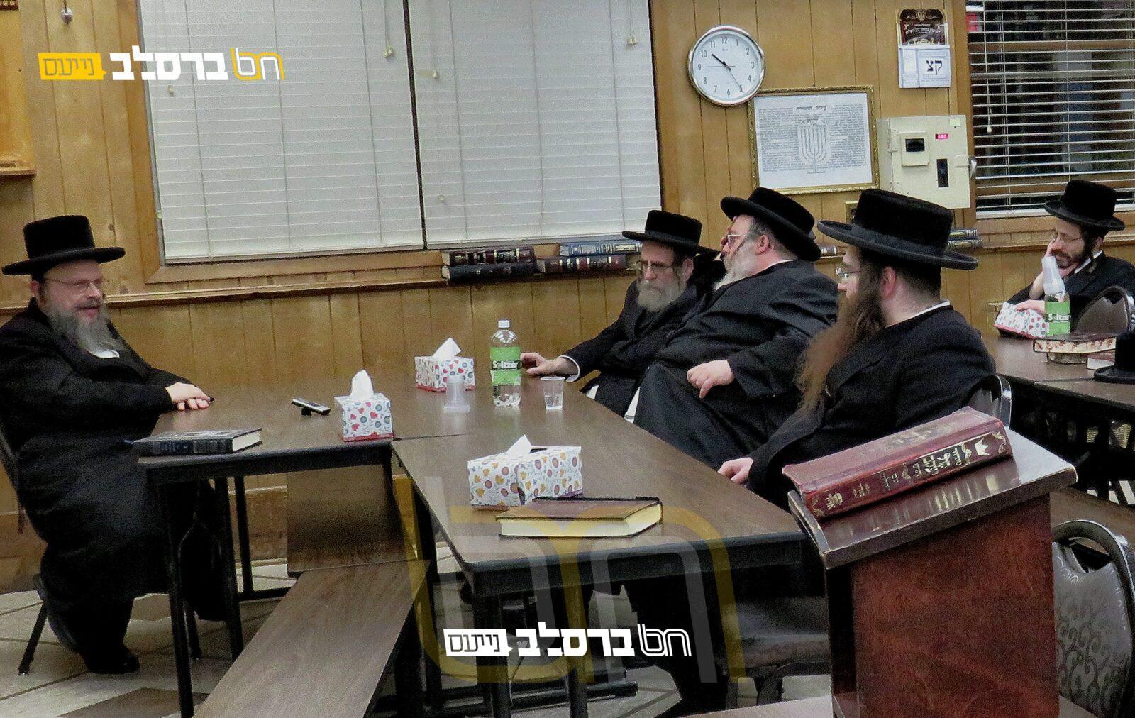 """מאנסי • חבורה עם ר""""א ירבלם בבית הכנסת 'ברכת הנחל'"""