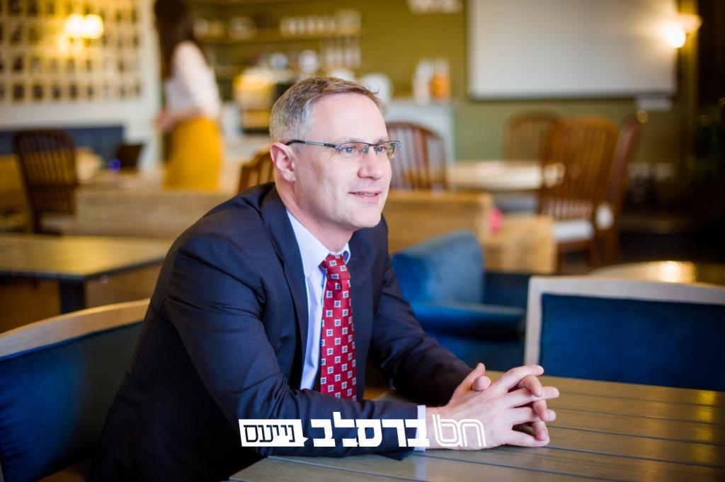 מיכאל ברודסקי מונה לשגריר ישראל באוקראינה