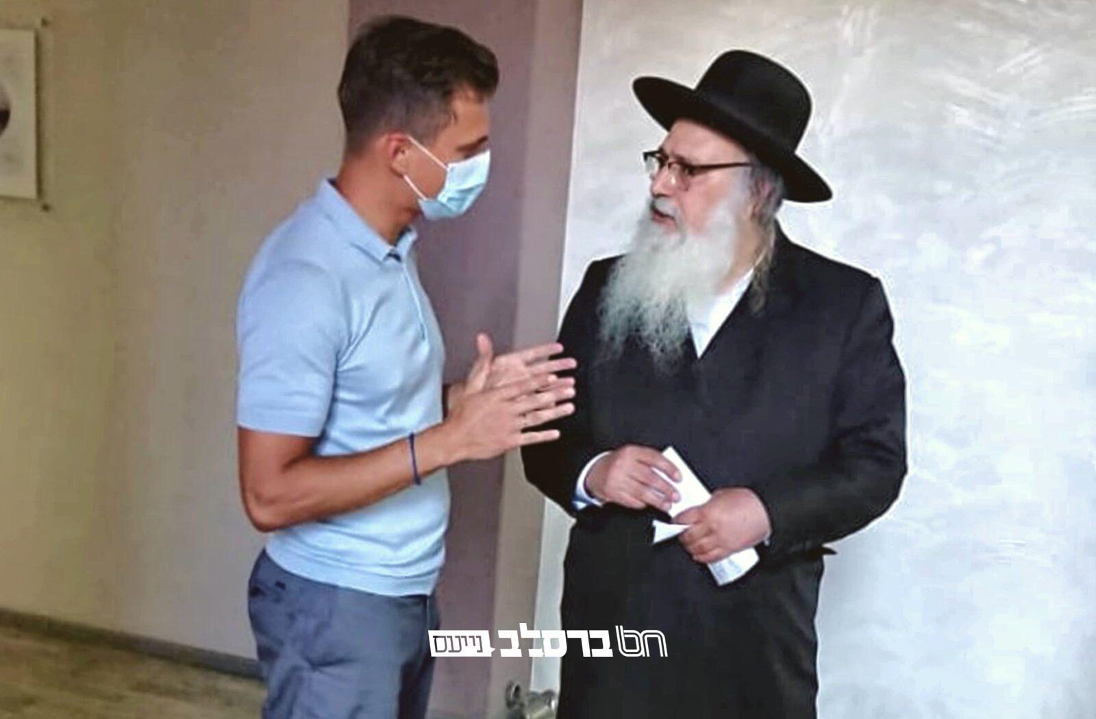 סיום משבר האפליקציה? • פגישה של הרב בן־נון עם הגברנטור וחבר הפרלמנט יצנקו